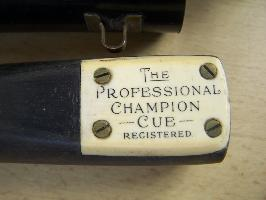 the professional champion cue