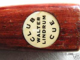 walter lindrum club cue