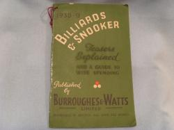 Burroughes & Watts  B&W 37-38